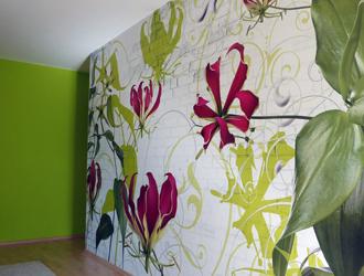 Tapeten dekorieren sanieren malen for Bauhaus 3d tapete